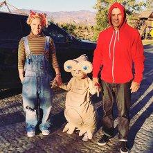 Pink e la sua famiglia rievocano E.T. per Halloween 2015