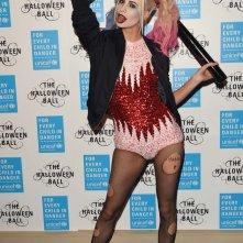 Poppy Delevingne è Harley Quinn ad Halloween 2015