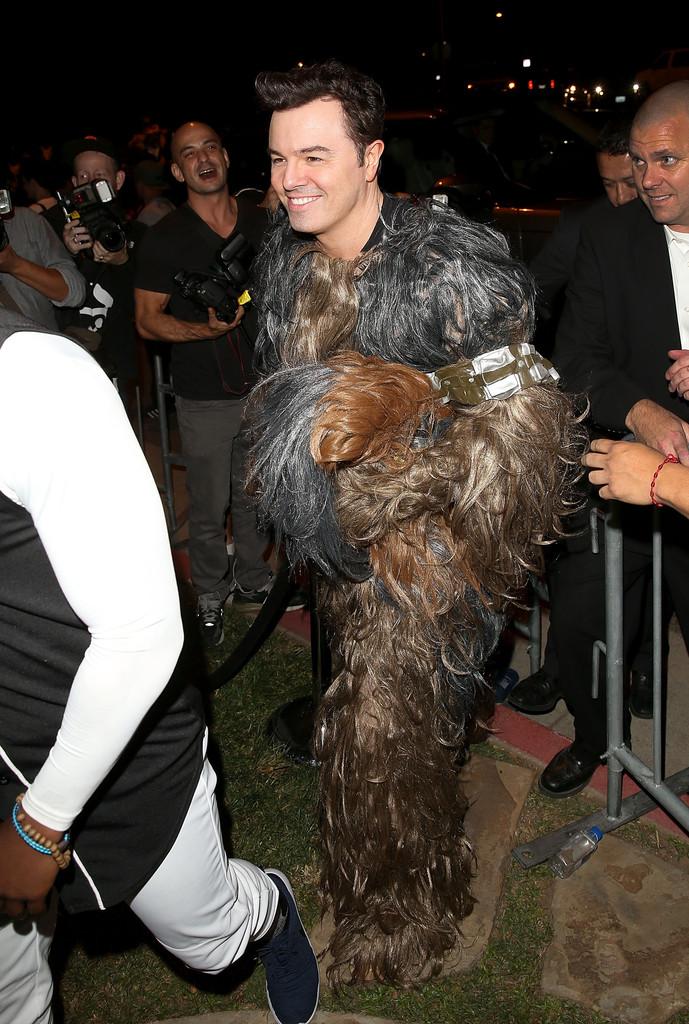 Seth MacFarlane è Wookie ad Halloween 2015