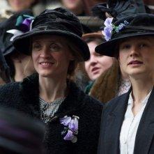 Suffragette: un'immagine del film con Carey Mulligan e Anne-Marie Duff