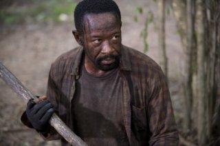 The Walking Dead: l'attore Lennie James interpreta Morgan in Qui non è qui