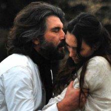 Fantasticherie di un passeggiatore solitario: Luca Lionello e Angelique Cavallari in una scena del film