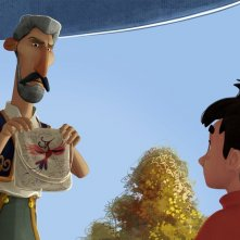 Iqbal: Bambini senza paura, una scena del film d'animazione