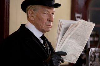 Mr. Holmes - Il mistero del caso irrisolto: Ian McKellen in una scena del film