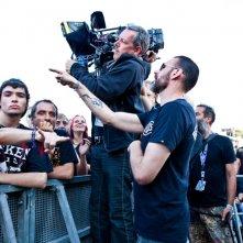 Wacken 3D: il regista Norbert Heitker in azione durante le riprese del documentario