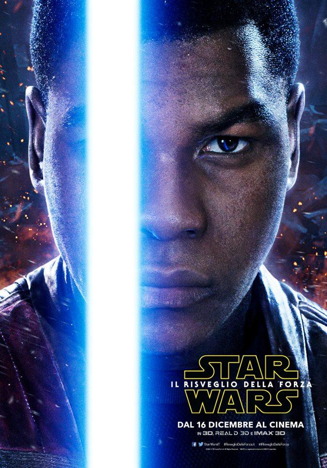Star Wars: il Risveglio della Forza, character poster di John Boyega
