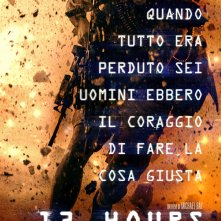 13 Hours: The Secret Soldiers of Benghazi - La locandina italiana