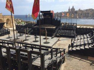 Assassin's Creed una foto dal set di Malta