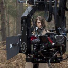 Victor - La storia segreta del Dott. Frankenstein: Daniel Radcliffe sul set del film