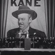"""Il mago - L'incredibile vita di Orson Welles: un'inquadratura del capolavoro di Orson Welles """"Quarto potere"""""""