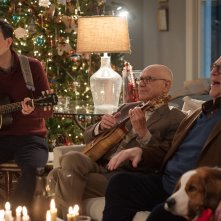 Natale all'improvviso: Ed Helms, Alan Arkin e John Goodman in una scena del film