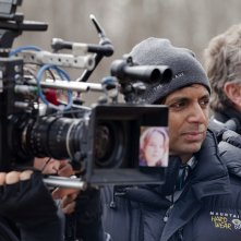 The Visit: M. Night Shyamalan sul set del film