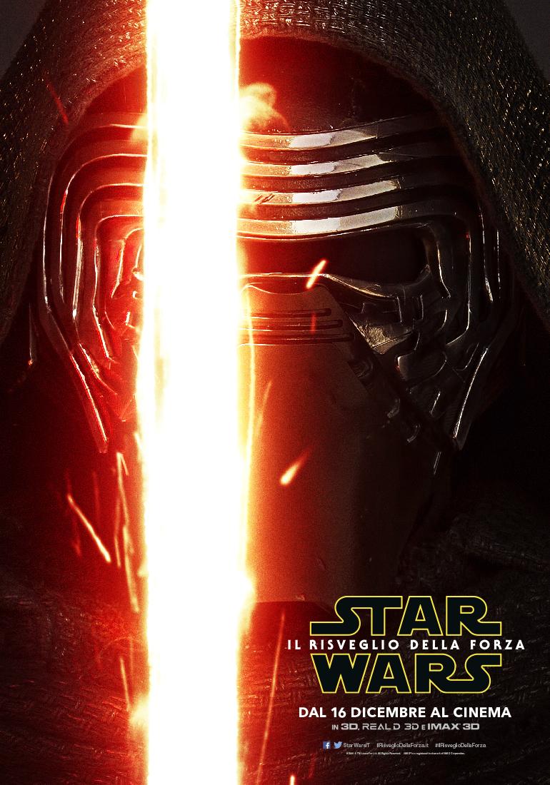 Star Wars, il Risveglio della Forza, un character poster del film