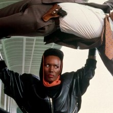 Grace Jones in Agente 007, bersaglio mobile