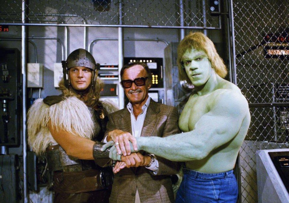 Hulk, Thor, Stan Lee
