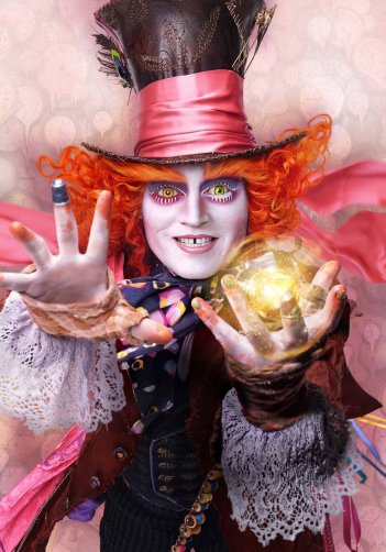 Alice in Wonderland: Through the Looking Glass - Il character poster di Johnny Depp