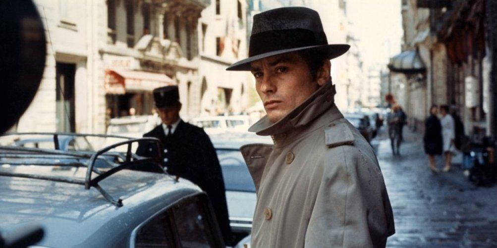 Alain Delon in Frank Costello Faccia d'angelo