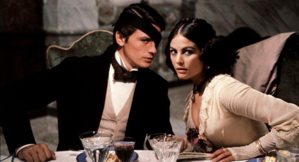 Alain Delon e Claudia cardinale ne Il gattopardo