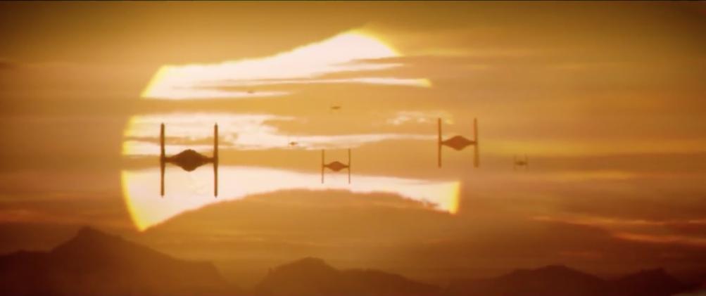 Star Wars - Il risveglio della Forza: un'immagine suggestiva del trailer giapponese