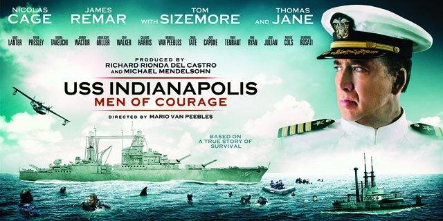 USS Indianapolis: Men of Courage - Il banner del film