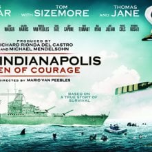 USS Indianapolis: Men of Courage - Il banner del film