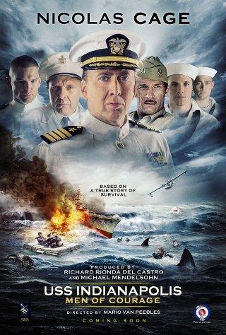 Locandina di USS Indianapolis: Men of Courage