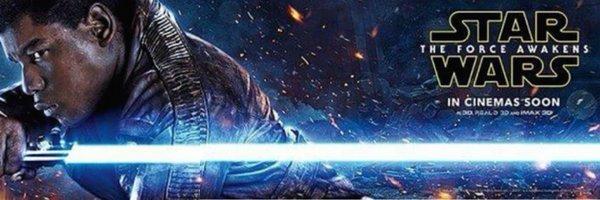 Star Wars: Il Risveglio della Forza - Il banner dedicato a Finn