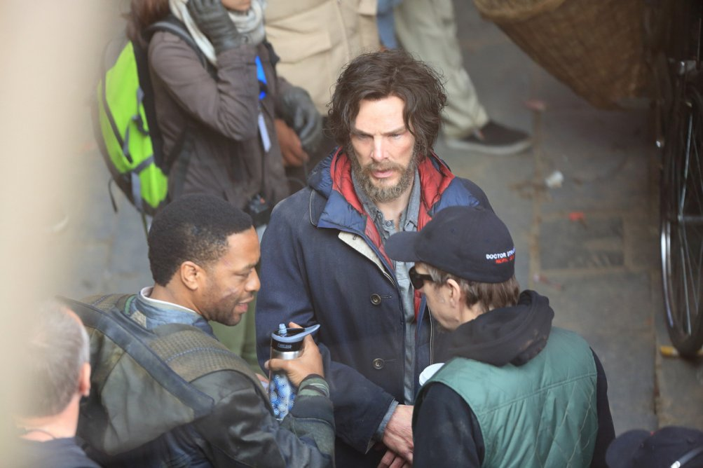 Doctor Strange: Benedict Cumberbatch e Chiwetel Ejiofor sul set