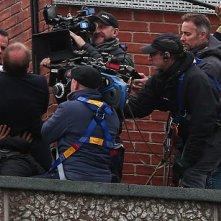 Bourne 5: Matt Damon e la crew sul set sui tetti di Londra