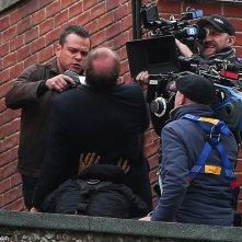 Bourne 5: Matt Damon punta la pistola a un collega di set