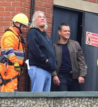 Bourne 5: Matt Damon e il regista Paul Greengrass sul set di Londra