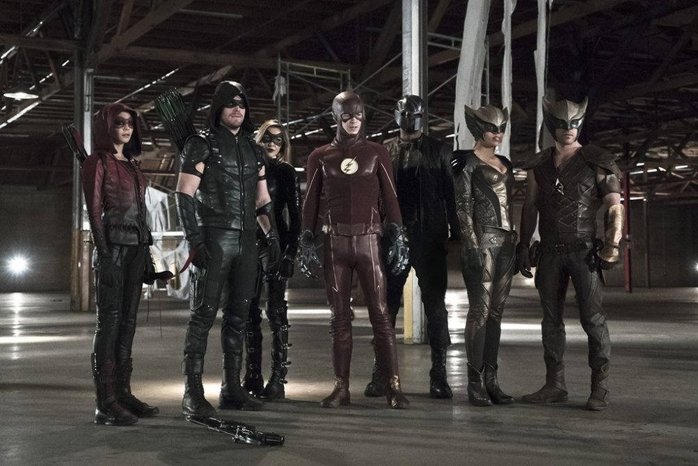 Arrow/The Flash: la prima immagine del nuovo crossover