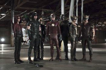 Arrow/The Flash: la prima immagine del nuovo crossover