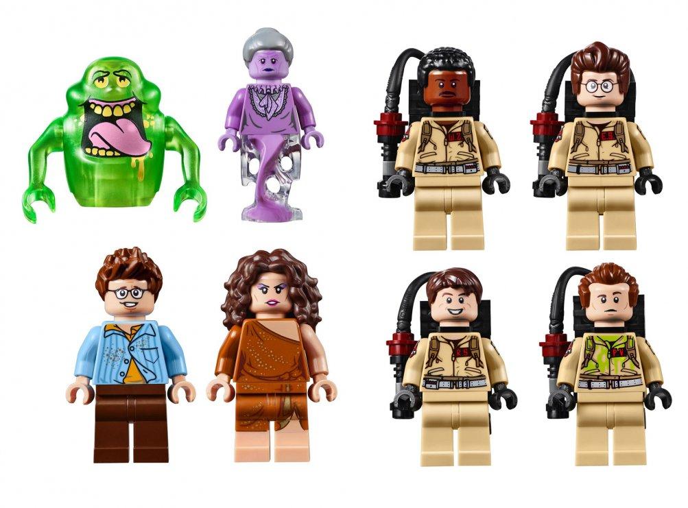 Ghostbusters LEGO - alcuni personaggi