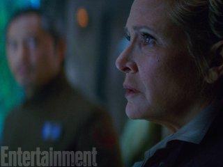 Star Wars: Il Risveglio della Forza - Carrie Fisher interpreta Leia nel film diretto da J.J. Abrams