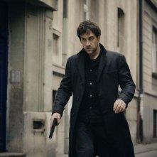 The Last Panthers: l'attore Goran Bogdan in azione in un episodio della serie
