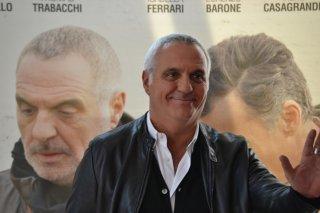Giorgio Panariello durante il photocall di Uno per tutti