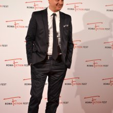 Roma Fiction Fest 2015: Iginio Straffi in uno scatto sul red carpet a lui dedicato
