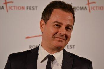 Roma Fiction Fest 2015: Iginio Straffi posa sul red carpet a lui dedicato
