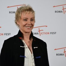 Roma Fiction Fest 2015: Carole André sorride sul red carpet di Sandokan