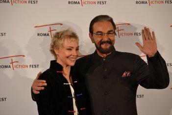 Roma Fiction Fest 2015: Kabir Bedi e Carole André sul red carpet di Sandokan
