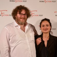 Roma Fiction Fest 2015: Vincent Lannoo e la produttrice Katia Raïs al photocall di Trepalium