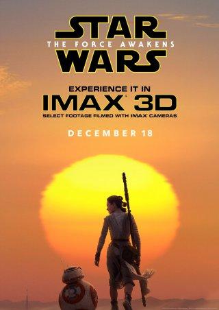 Star Wars: Il Risveglio della Forza - La locandina del film in versione IMAX 3D