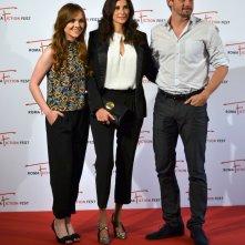 Roma Fiction Fest 2015: Michaela Watkins, Tommy Dewey e Tara Lynne Barr durante il photocall di Casual