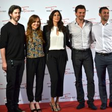 Roma Fiction Fest 2015: Zander Lehman, Jason Reitman, Michaela Watkins, Tommy Dewey e Tara Lynne Barr al photocall di Casual
