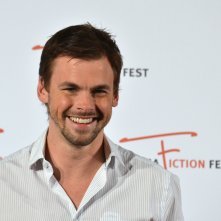 Roma Fiction Fest 2015: Tommy Dewey al photocall di Casual
