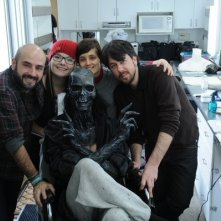 Crimson Peak - foto di gruppo sul set del film