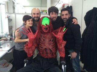 Crimson Peak - foto di gruppo sul set