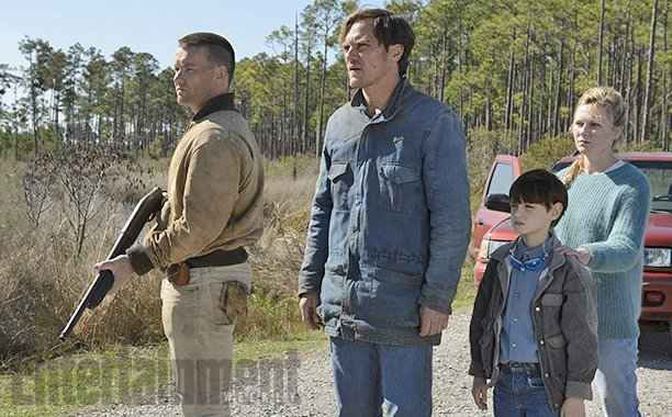 Midnight Special: Joel Edgerton, Michael Shannon, Jaeden Lieberher e Kirsten Dunst nella prima foto del film