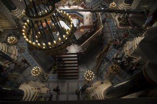 Warcraft: un'immagine dal set